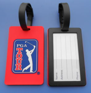 Golf PVC Luggage Tags, Promotional Golf Bag Tags pictures & photos
