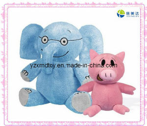 Plush Cute Elephant and Pink Pig Toys pictures & photos