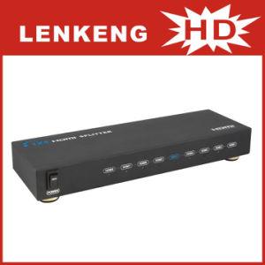 3D HDMI Splitter 1x8 (LKV318)