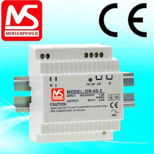 Dr-60-12, 60W 12V 5A DIN Rail Power Supply