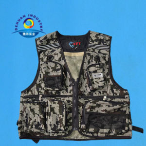 Camouflage Fishing Vest (DH-014)