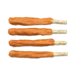 Pet Food: Dry Chicken Jerky Wrapped with Munchy Stick (CD-11H)