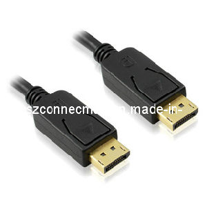 High Speed Displayport, Male to Male, 1080p