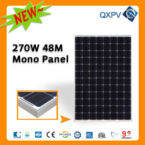 48V 270W Mono Solar Panel (SL270TU-48M) pictures & photos