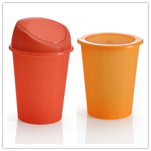 Old Mould Used Mould Fashion Plastic Dustbin -Plastic Mold