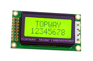 8X2 Character LCD Display Alphanumeric COB Type LCD Module (LMB0820D) pictures & photos