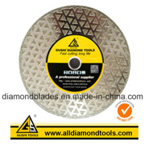 Electroplated Diamond Saw Blade for Cutting Marble Granite pictures & photos