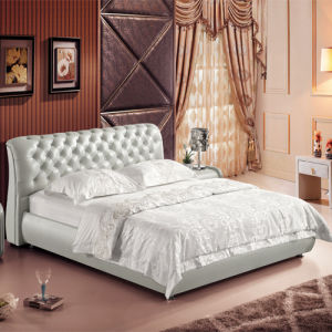 2013 Modern Crystal Button Bed V758