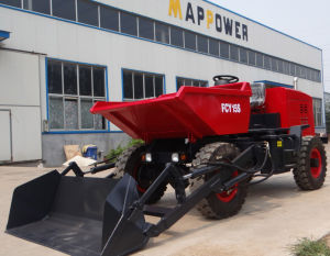 Construction Machine 1.5ton Mini Dumper with Self-Loading Bucket pictures & photos