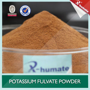 100% Soluble Organic Foliar Fertilizer Potassium Fulvate Powder pictures & photos
