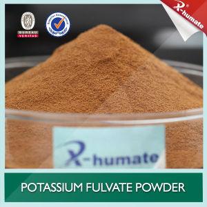 100% Soluble Organic Foliar Fertilizer Potassium Fulvate Powder pictures & photos