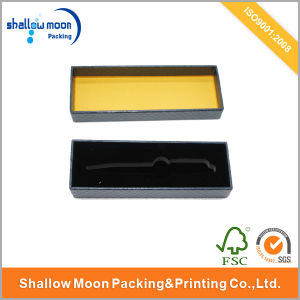 Logo Hot Stamping Inside Tray Pen Packing Box (QY150008) pictures & photos