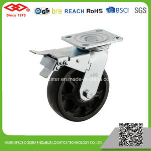 6 Inch Single Locked High Temperature Caster (P701-61F150X50Z) pictures & photos