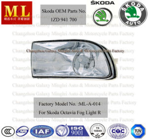OEM Quality Fog Light for Skoda Auto Octavia From 2004-2ND Generation (OEM parts No.: 1ZD 941 700) pictures & photos