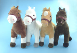 Soft Stuffed Plush Toy Pony 4 Asst. pictures & photos