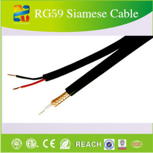 CCTV Power Supply Security Camera System Siamese Cable Rg59 pictures & photos