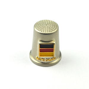 Oil-Filled Germany Flag Thimble Souvenir pictures & photos