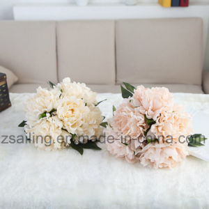Hot Selling Peony Bouquets Artificial Flower Used for Decoration (SW11221) pictures & photos
