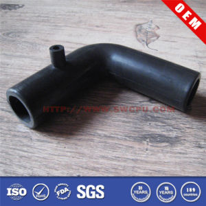 Black Flexible Elbow Rubber Fitting Connector (SWCPU-P-T879) pictures & photos