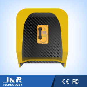 Vandalproof Phone Hood, Rugged Phone Booth, Soundproof Telephone Booth pictures & photos