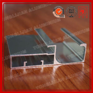 Mirrored Finish Aluminum Extrusion Profile for Cabinet pictures & photos