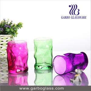 12oz Color Sprayed Glass Cup (GB062012-P) pictures & photos