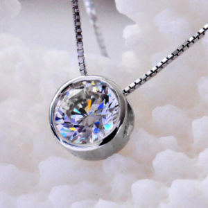 Bright Round Atificial Diamond Fashion Necklace Jewelry pictures & photos