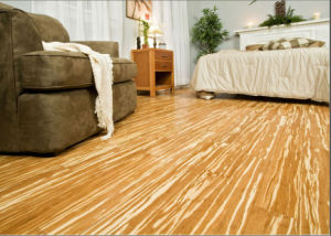 Tiger Strand Woven Bamboo Flooring UV Lacquer Smooth pictures & photos