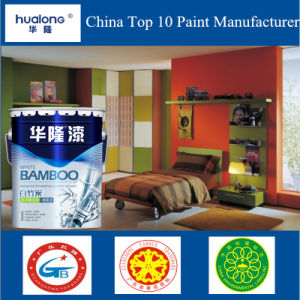 Hualong White Bamboo Carbon Atoms Net Aldehyde Interior Wall Paint pictures & photos