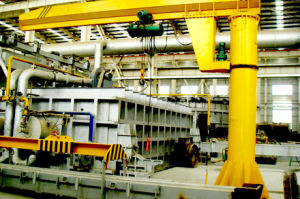 Pillar-Mounted 0.5-1ton Cantilever Crane for Workshop Use pictures & photos