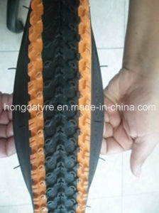 Kids Bike Tyre Black with White Side Wall pictures & photos