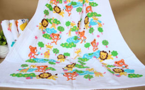 Baby Muslin Swaddling, Baby Bath Towel with 75X150cm pictures & photos