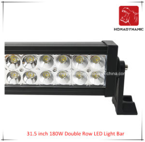 LED Car Light 31.5 Inch 180W Double Row LED Light Bars for SUV LED off Road Light and LED Driving Light pictures & photos