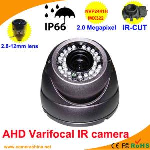 Weatherproof IR Varifocal Dome 2.0 Megapixel Ahd Camera pictures & photos