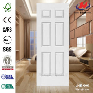 Laminate HDF/MDF Moulded Interior White Door Skin pictures & photos