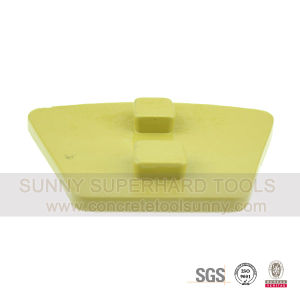 PCD Trapezoid Floor Grinding Tools Pad Shoes for Concrete pictures & photos