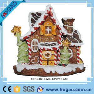 OEM Resin Decoration Cake House Ornament Christmas Decor pictures & photos