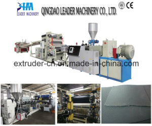 Professional Plastic Extrusion Line HD Ld PE Sheet Production Line pictures & photos