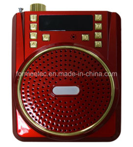 Portable Loudspeaker Amplifier USB SD TF Card Radio pictures & photos