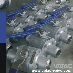 A105&A216 Wcb Cl800 Butt Welded Ball Valve pictures & photos