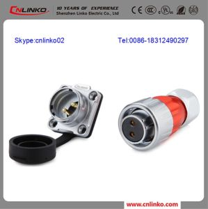 Two Pin Power Connector/Waterproof Plug Sockets/Metal Connector with 20A 500V pictures & photos