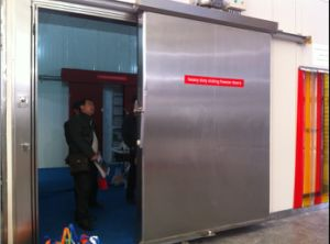 Manual Sliding Door/Automatic Sliding Door for Cold Room pictures & photos