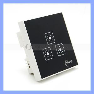 3 in 1 Mirror Faceplate Touch Control Switch Zero Firewire Remote Control Switch pictures & photos