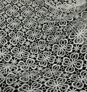 Polyester Water Soluble Fabric Lace