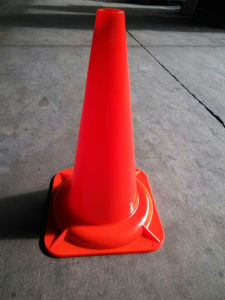 Reflective Tape PVC Traffic Safety Cone (CC-A47) pictures & photos