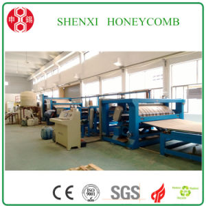 Full- Automatic High Speed Honeycomb Paperboard Machine pictures & photos