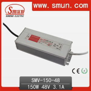 Smun Waterproof 150W 48V LED Power Supply with CE RoHS pictures & photos