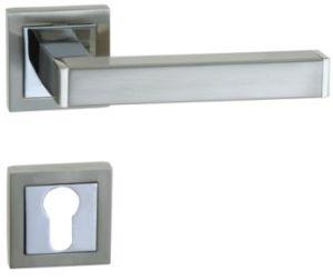 Zinc Alloy Door Handle Lock (502Q-187) pictures & photos