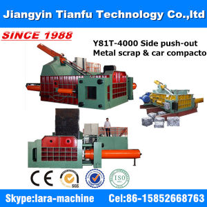 Y81t-3150 Horizontal Automatic Hydraulic Metal Waste Baler pictures & photos