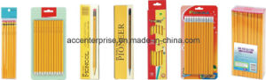 High Quality Hb Wooden Pencil with or Without Eraser pictures & photos